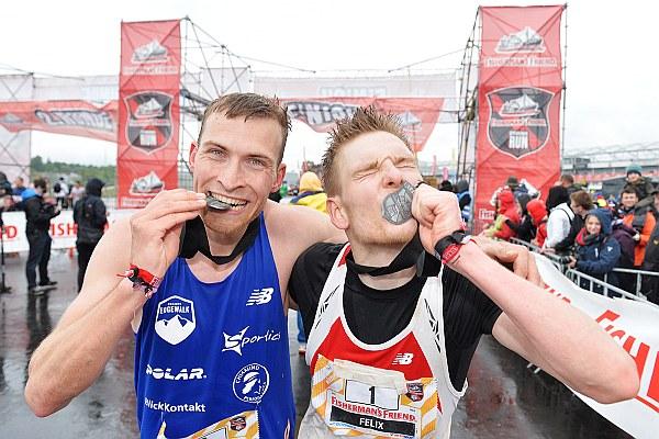 Tom & Felix, die diesjährigen Sieger in der Eifel