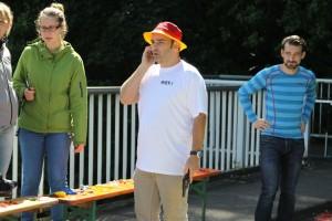 Oli Witzke (Bergischer 6 Stundenlauf, Bergischer Wuppermarath, Deutschlandlauf) und Guido Gallenkamp (Zuckerspiel, WHEW) - zwei tolle Typen für das Laufen im Bergischen